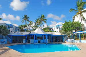 A photo of a Bahamas resort to relax at after exploring Blue Lagoon Island.